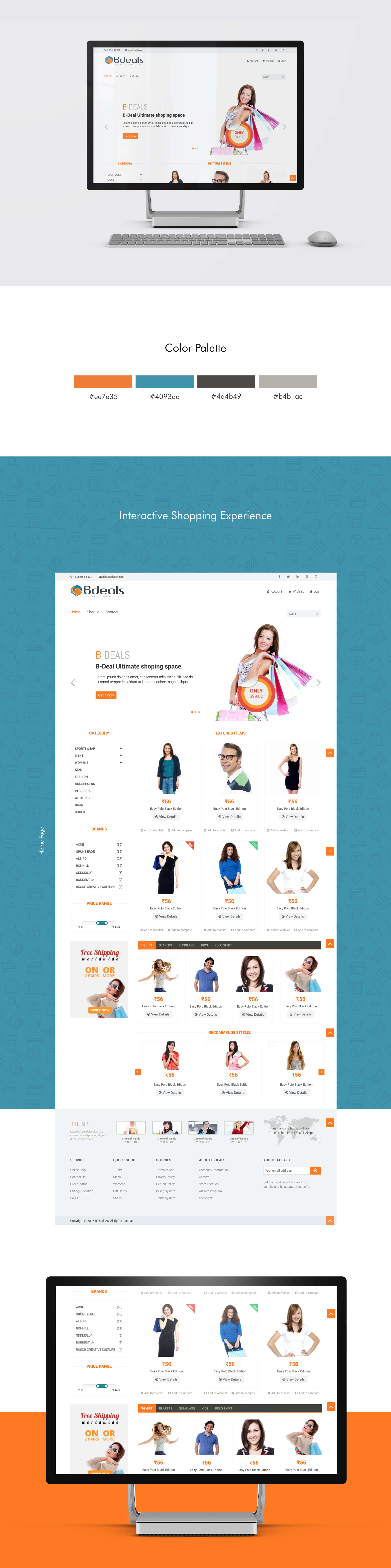 B-Deals Website by SAJID SULAIMAN