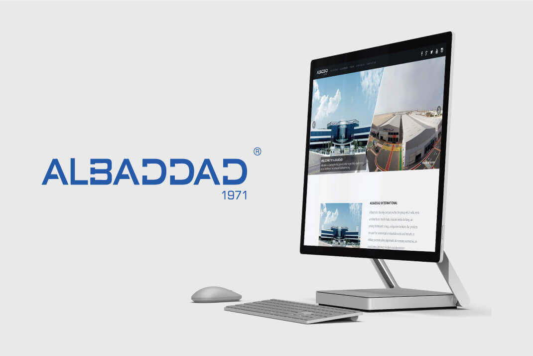 Al Baddad Website by SAJID SULAIMAN