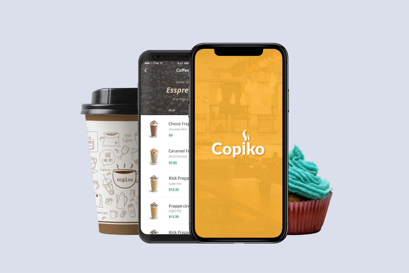 Copiko App Designed By Freelance Mobile App designer in Dubai Sajid Sulaiman