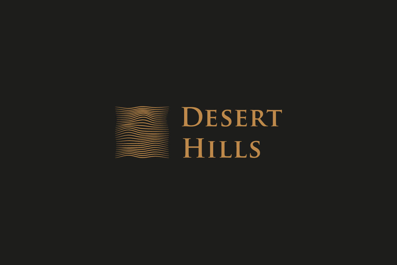 Desert Hill Logo Design