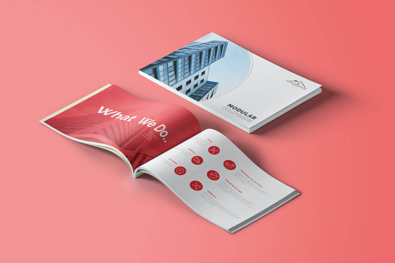 Modular Brochure design By Freelance Graphic Designer SAJID SULAIMAN