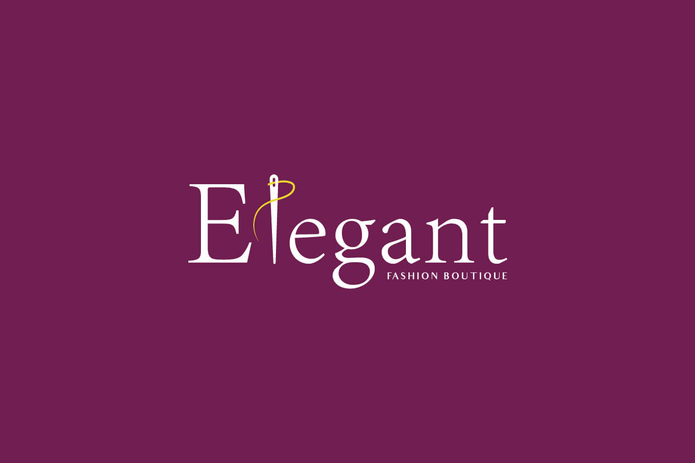 Elegant fashion Logo design By Freelance logo designer Sajid Sulaiman