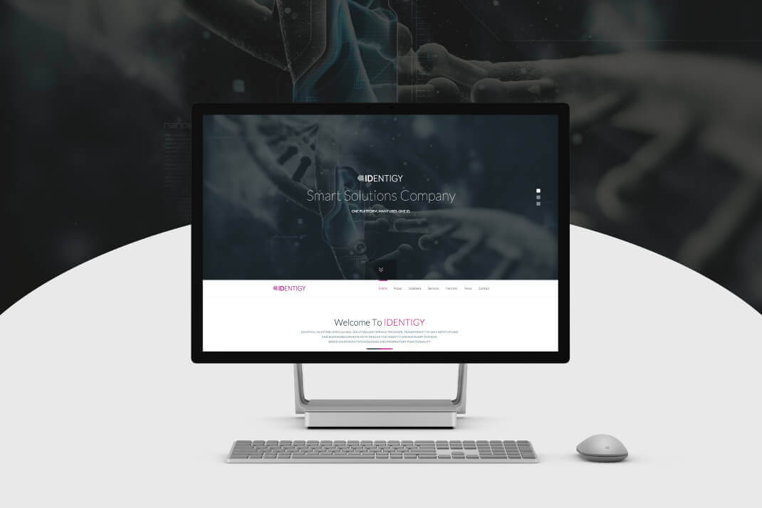 IDENTIGY Website by SAJID SULAIMAN