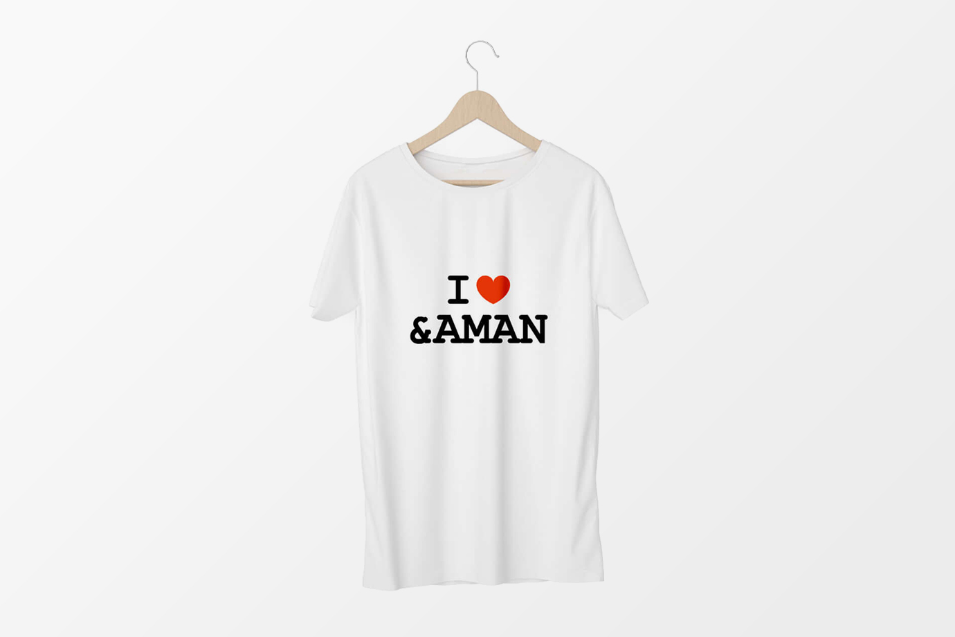 I love Andaman logo design by freelance graphic designer Sajid Sulaiman
