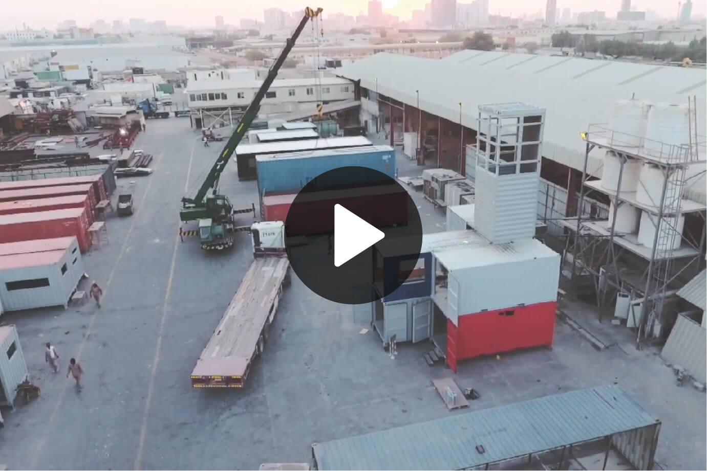 Container Conversion Facility Video By SAJID SULAIMAN