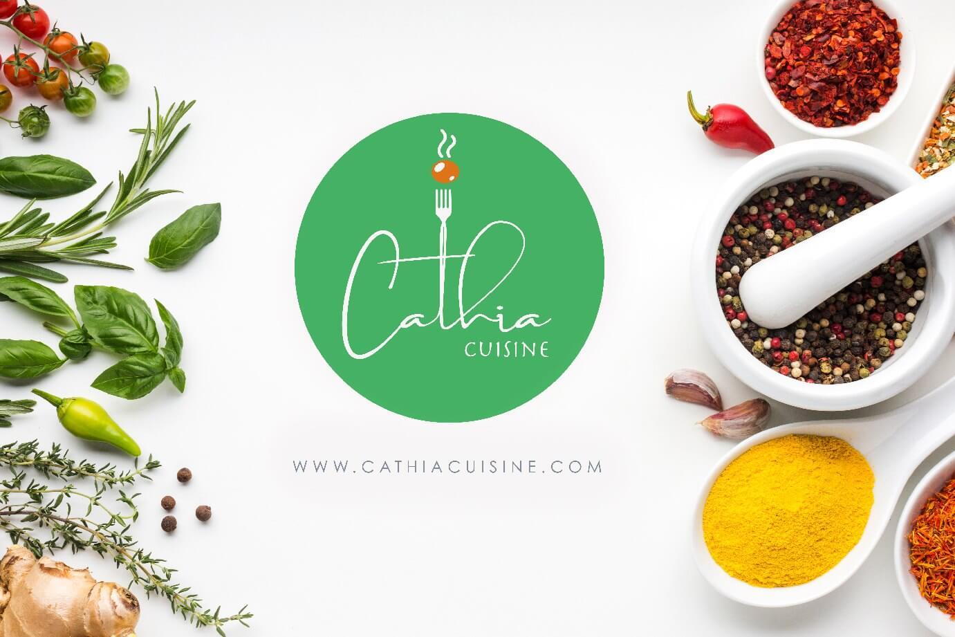 Cathia Cusine Logo by SAJID SULAIMAN