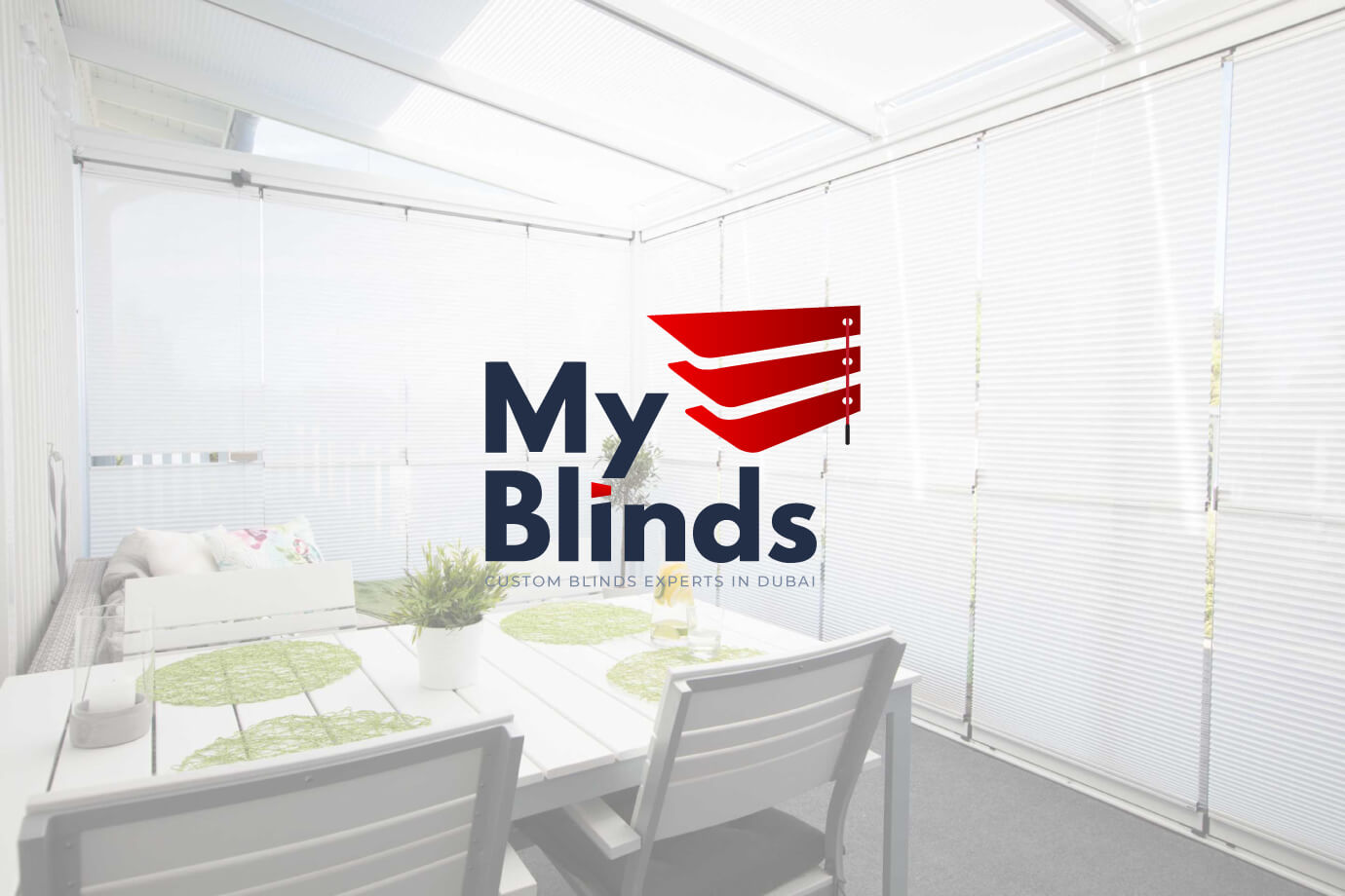 My Blinds Logo by Freelance Graphic Designer SAJID SULAIMAN