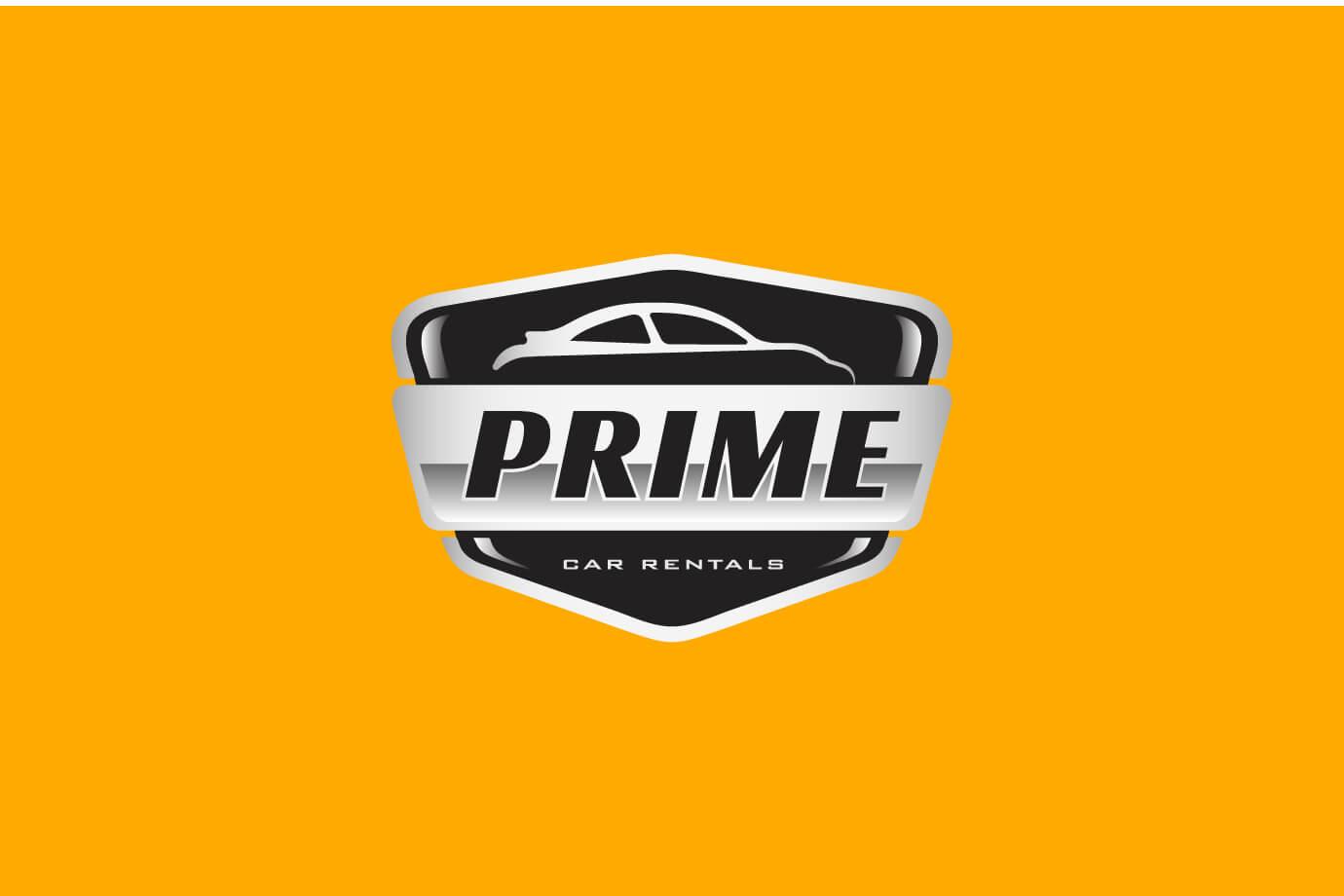 Prime Cars Logo by Freelance Graphic Designer SAJID SULAIMAN