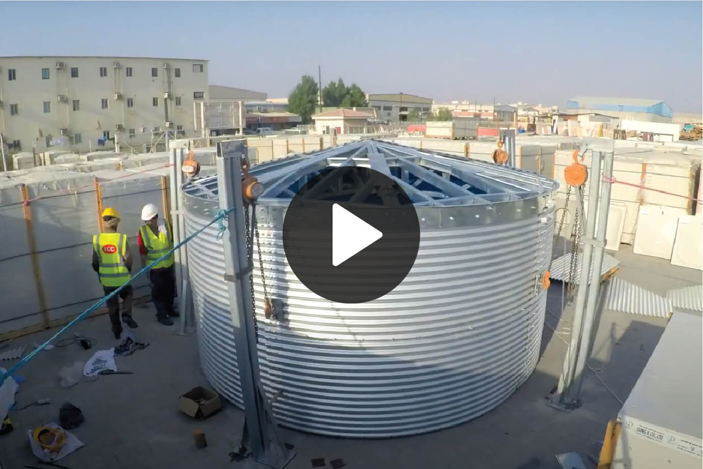 Steel Tank Video by SAJID SULAIMAN